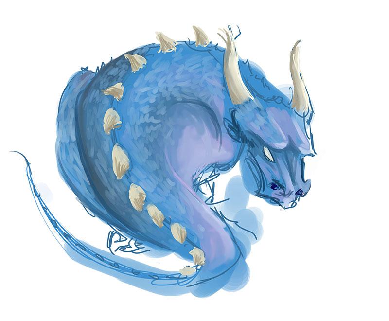 blue wyrm