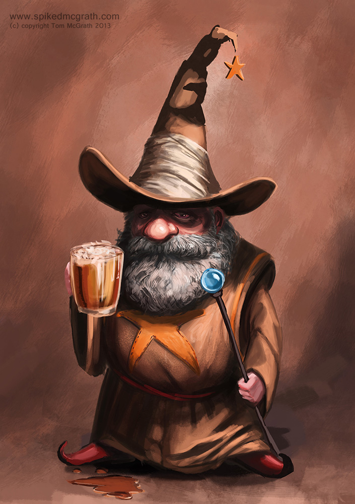 I like painting wizards