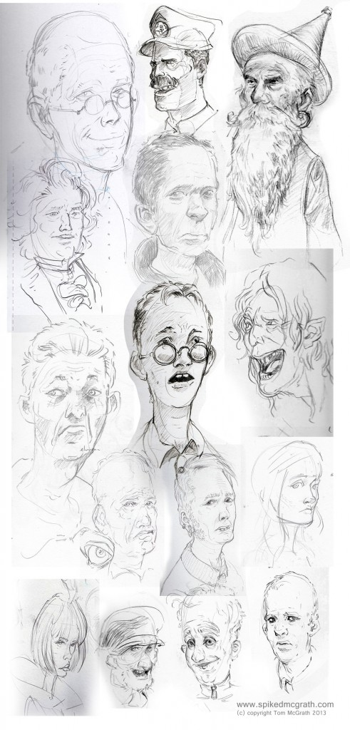 face sketches