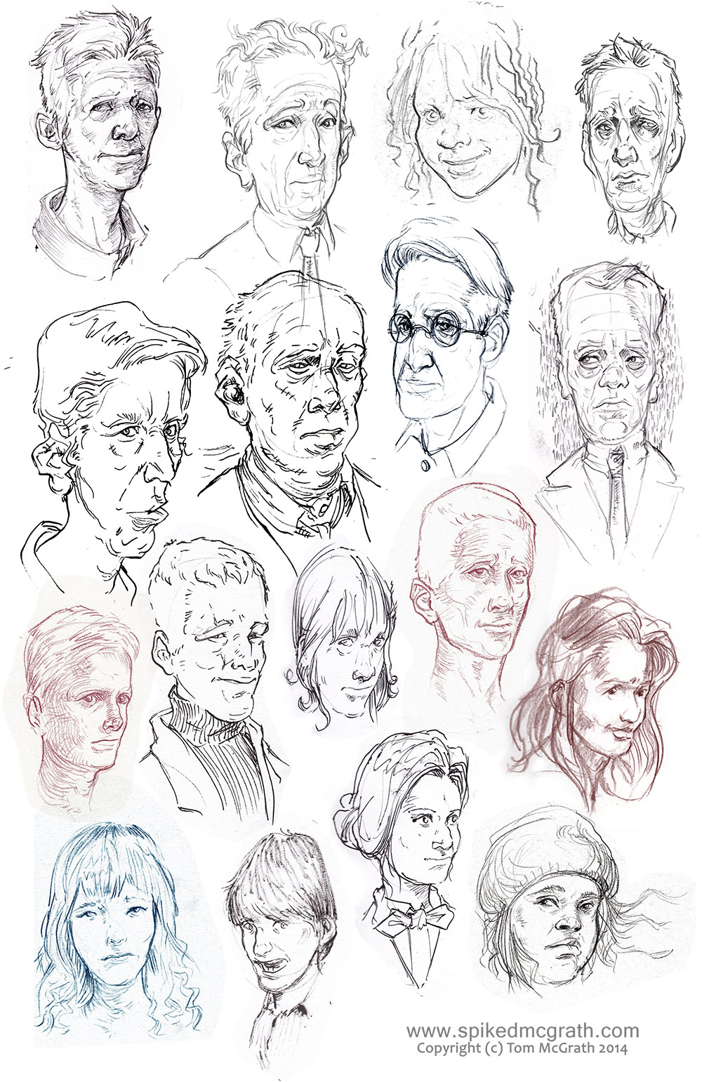 Face Sketches_July 14