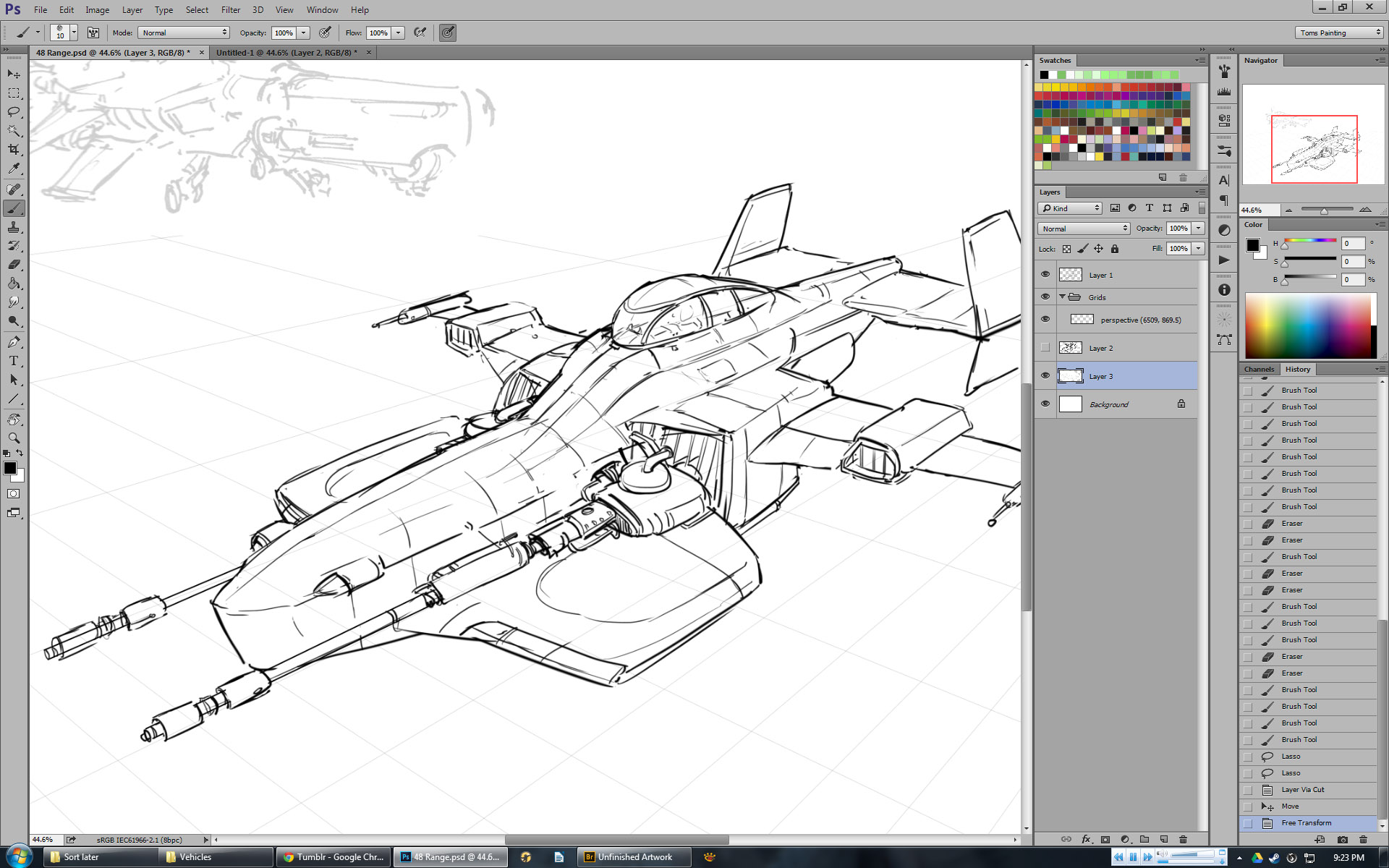 a space jet fighter