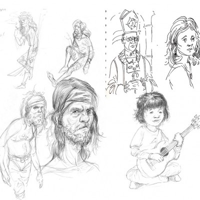 sketchbook people